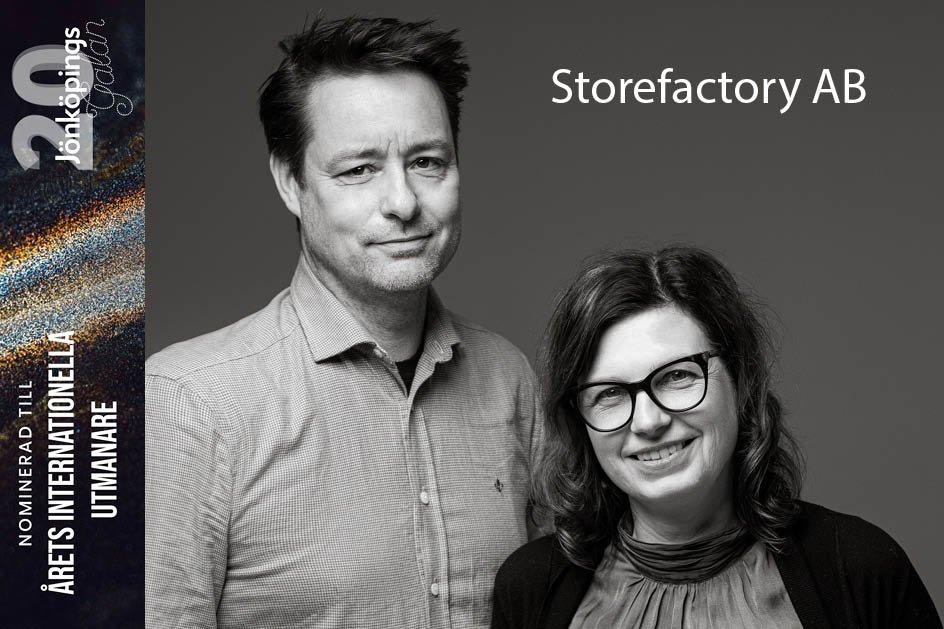 Storefactory Nominerad Årets Internationella utmanare 2019