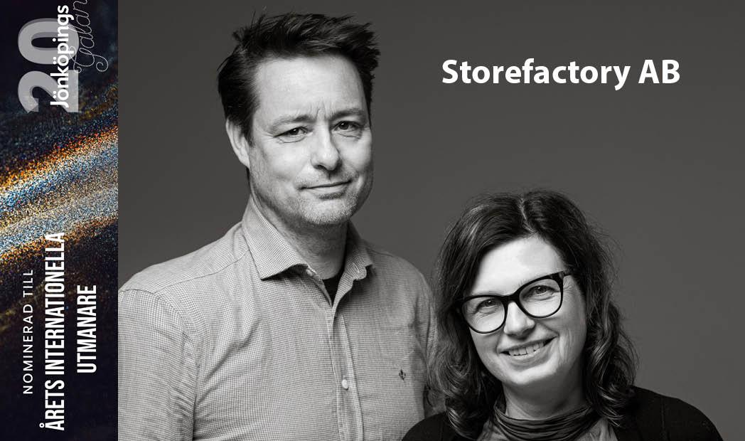 Storefactory - Nominerad till årets internationella utmanare